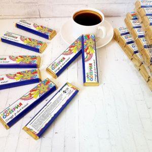Шоколад с логотипом молочный 42 гр.
